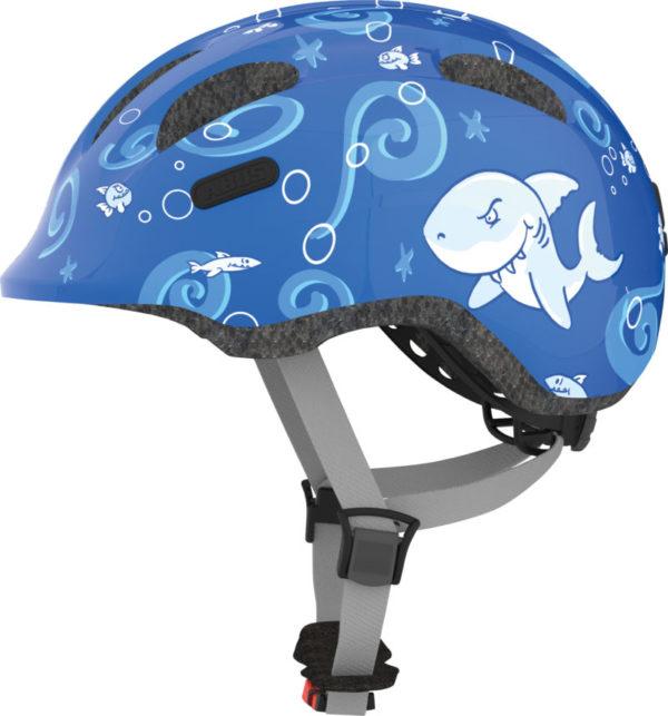 ABUS Smiley Requin - Casque vélo bébé enfant