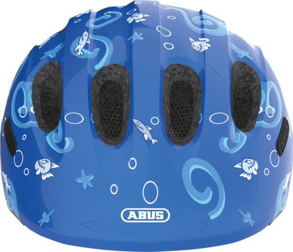 ABUS Smiley Requin - Casque vélo bébé enfant - tete a casque