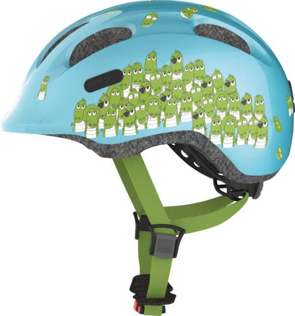 ABUS Smiley Croco - Casque vélo bébé enfant