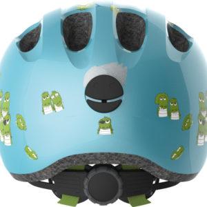 ABUS Smiley Croco - tete a casque - casque vélo enfant bébé