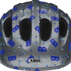Abus Smiley 2.1 Blue Mask - Casque vélo bébé - Tête à Casque - Face