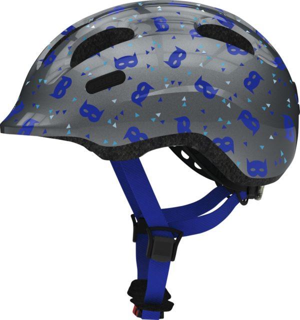 Abus Smiley 2.1 Blue Mask - Casque vélo bébé - Tête à Casque