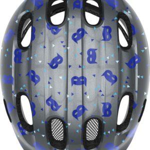 Abus Smiley 2.1 Blue Mask - Casque vélo bébé - Tête à Casque - Top