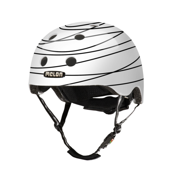 Melon Story Scribble - casque vélo enfant bébé