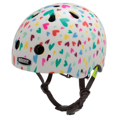 Baby Nutty Happy Hearts - casque vélo bébé - Tête à Casque