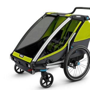 Thule Chariot Cab 2 - Mode marche poussette - Tête à Casque