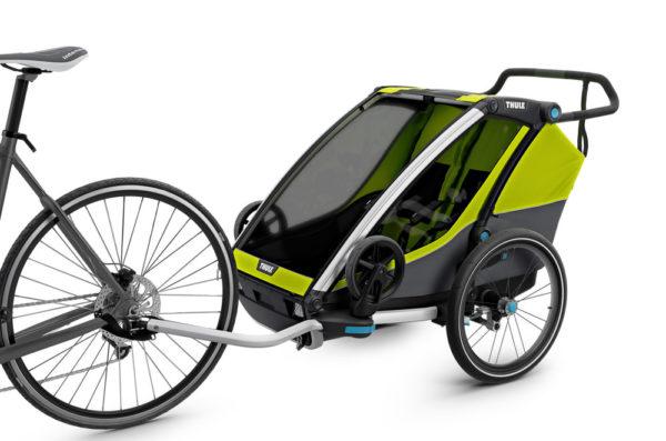 Thule Chariot Cab 2 - Attache vélo - Tête à Casque