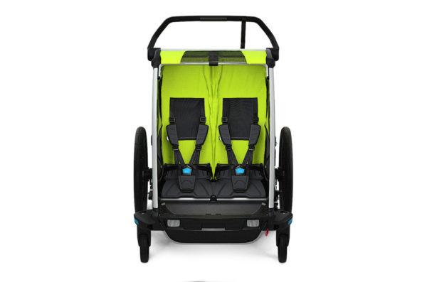 Thule Chariot Cab 2 - Habitacle 2 enfants- Tête à Casque
