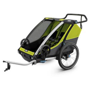 Thule Chariot Cab 2 - Remorque enfant - Tête à Casque