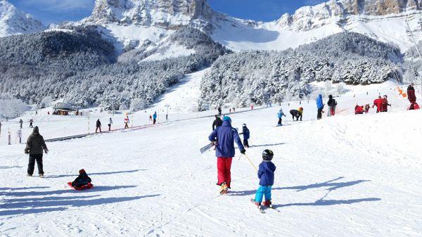 Ski à Gresse en Vercors - Tête à Casque