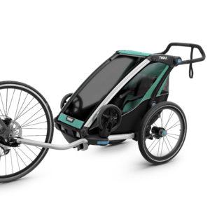 Thule Chariot Lite - Remorque vélo enfant 1 place - Tête à Casque