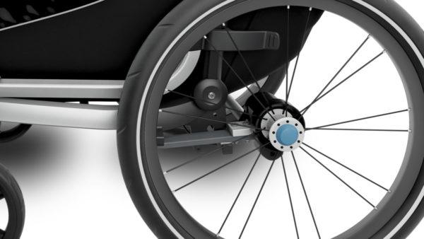 Thule Chariot Lite - Remorque vélo enfant suspension - Tête à Casque