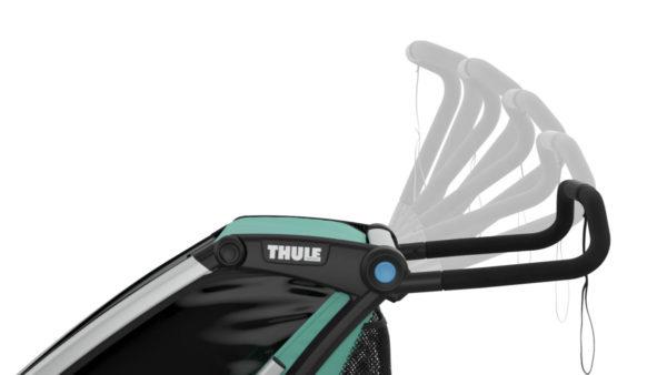 Thule Chariot Lite - Remorque vélo enfant réglage guidon - Tête à Casque