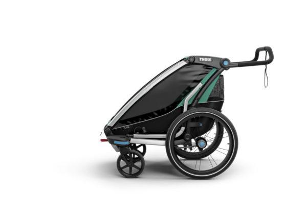 Thule Chariot Lite - Remorque vélo enfant mode poussette - Tête à Casque