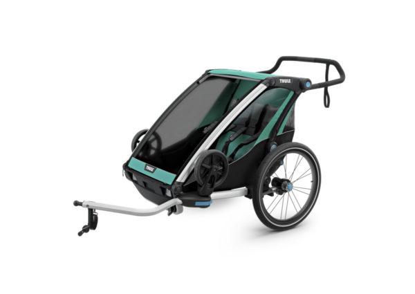 Thule Chariot Lite - Remorque vélo enfant 2 places - Tête à Casque