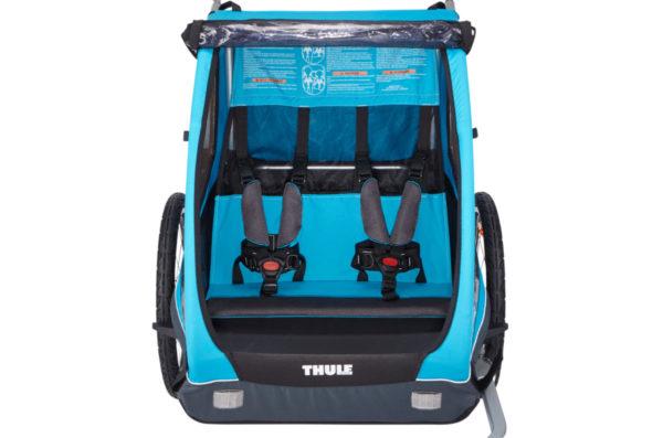 Thule Coaster XT - Remorque vélo enfant habitacle spacieux - Tête à Casque