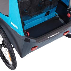 Thule Coaster XT - Remorque vélo enfant rangement - Tête à Casque