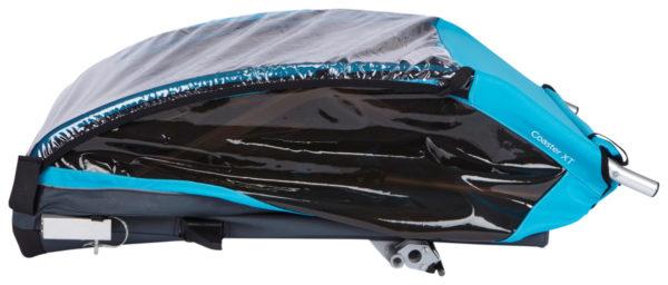 Thule Coaster XT - Remorque vélo enfant pliage - Tête à Casque