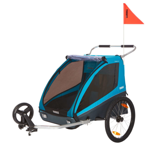 Thule Coaster XT - Remorque vélo enfant sécurité - Tête à Casque