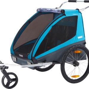 Thule Coaster XT - Remorque vélo enfant - Tête à Casque