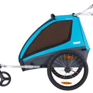 Thule Coaster XT - Remorque vélo enfant réglage guidon - Tête à Casque