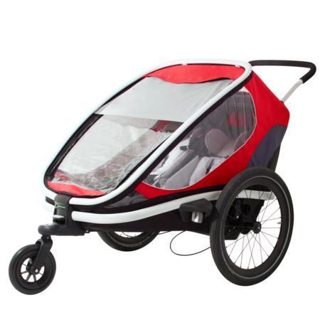 Hamax Outback - Remorque vélo enfant - mode poussette - Tête à Casque
