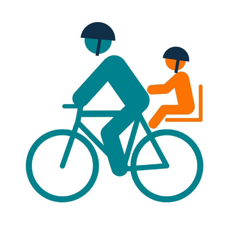 Siège vélo bébé arrière