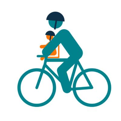 Siège vélo bébé avant