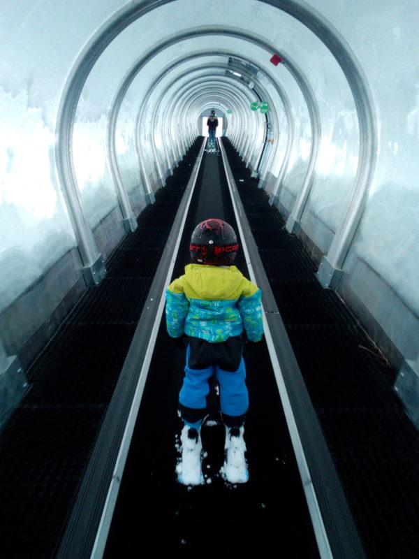 vacances au ski en famille à Tignes - Tête à Casque