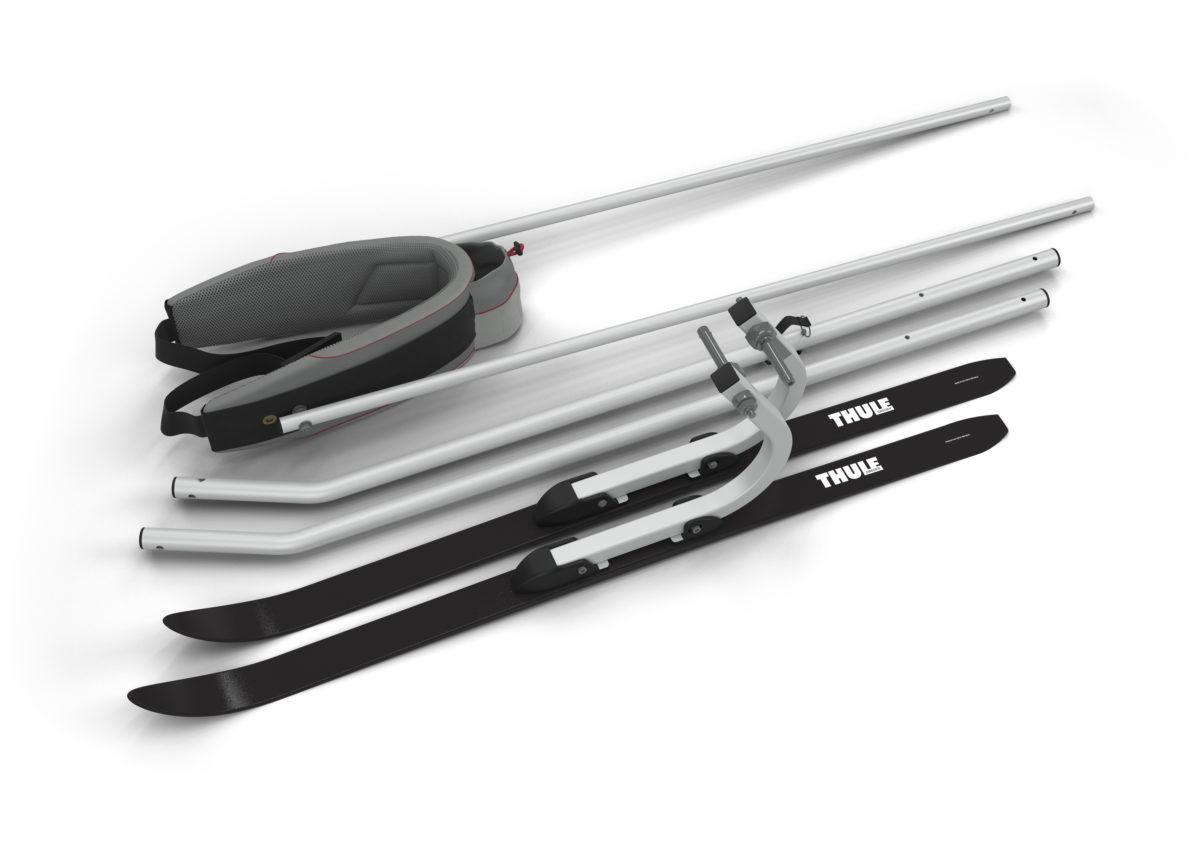 Kit Ski Pour Remorque Thule Chariot Tête à Casque