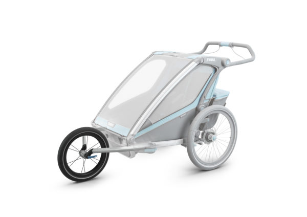 Kit jooging remorque Thule Chariot - installé