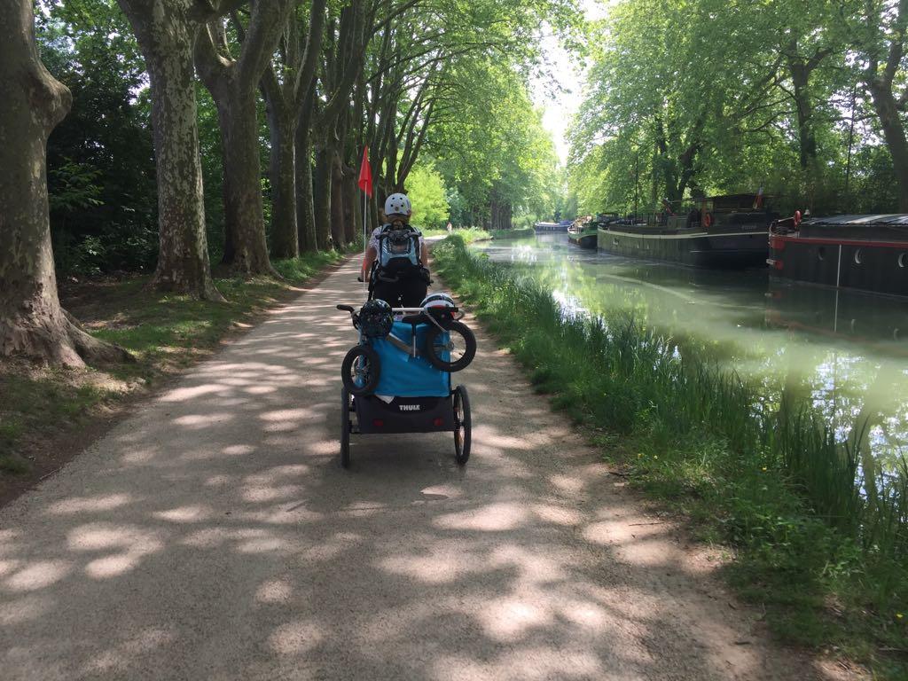 canal du midi en famille : de toulouse à carcassonne
