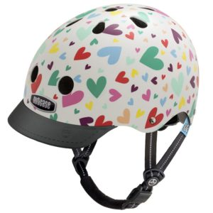 Little Nutty Happy Hearts - Casque vélo enfant - Tête à Casque