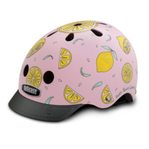 Casque Nutcase Street Adulte Pink Lemonade