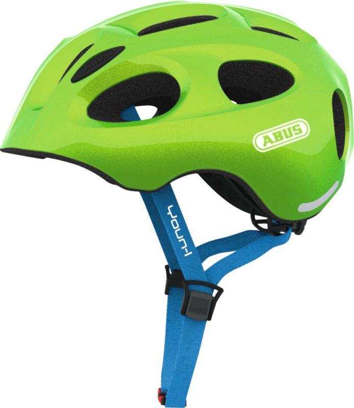 ABUS Youn-I vert - casque vélo enfant - Tête à Casque