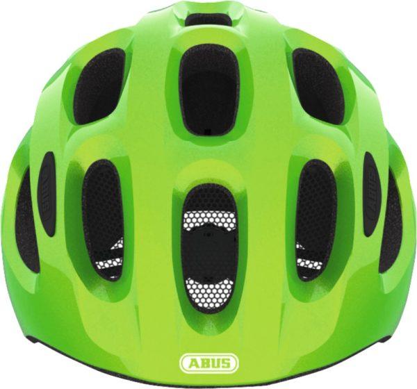 ABUS Youn-I vert - casque vélo enfant - Tête à Casque - Face