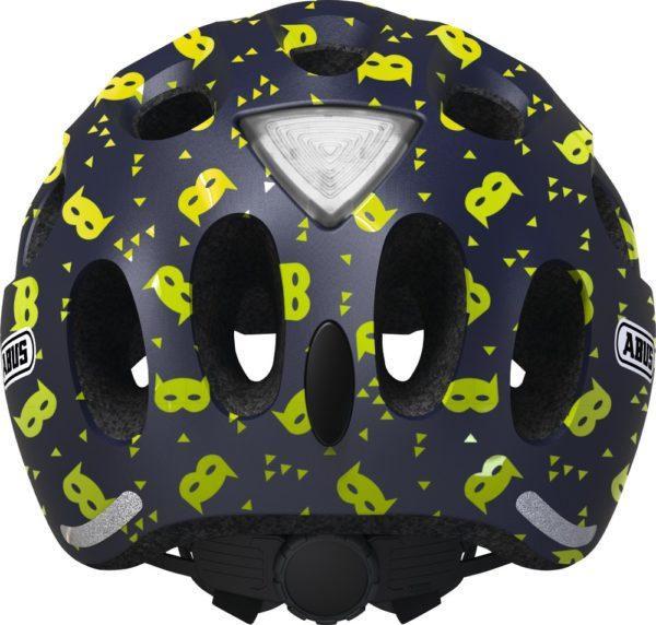 ABUS Youn-I Blue Mask - casque vélo enfant - Tête à Casque - Dos