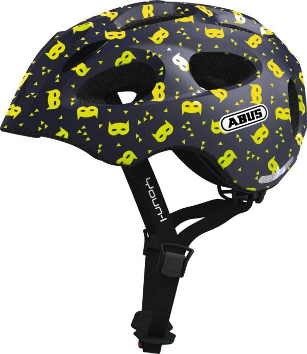 ABUS Youn-I Blue Mask - casque vélo enfant - Tête à Casque