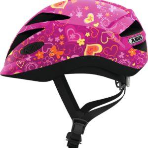 Abus Hubble Purple Flower - Casque vélo bébé - Tête à Casque