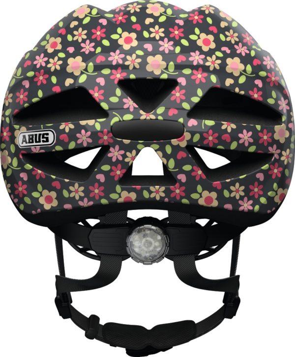 Abus Hubble Retro Flower - Casque vélo bébé - Tête à Casque - Dos