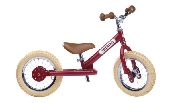 Draisienne Trybike Rouge évolutive - Tête à Casque
