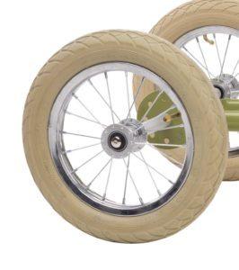 Draisienne Trybike Verte évolutive - Tricycle - Tête à Casque - Détails