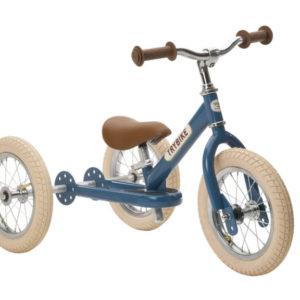 Draisienne Trybike Bleue évolutive - Tricycle - Tête à Casque