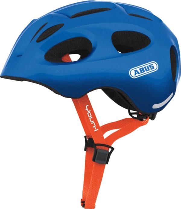 ABUS Youn-I Sparkling Blue- casque vélo enfant - Tête à Casque