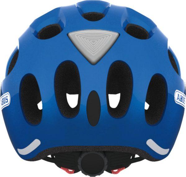 ABUS Youn-I Sparkling Blue- casque vélo enfant - Tête à Casque - Dos