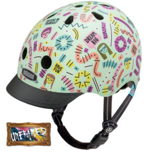 Little Nutty Stay Positive - Casque vélo enfant - Tête à Casque