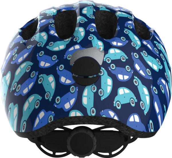 ABUS Smiley Blue Car - Casque vélo bébé enfant - Dos