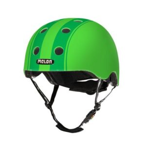 Casque Melon Stripe Tease Double Green