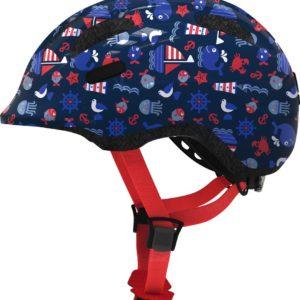 Abus Smiley 2.1 Blue Maritim - Casque vélo bébé - Tête à Casque