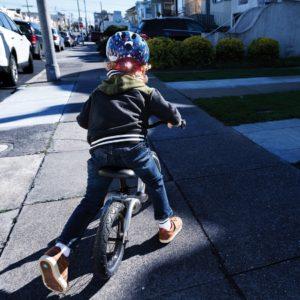Abus Smiley 2.1 Blue Maritim - Casque vélo bébé - Tête à Casque - Kid